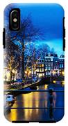 Amsterdam At Night V IPhone X Tough Case