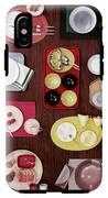 An Assortment Of Dinnerware IPhone X Tough Case