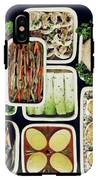 An Assortment Of Food In Containers IPhone X Tough Case