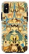 Antique Cutout Of Animals  IPhone X Tough Case