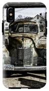 Antique International Pickup Truck IPhone X Tough Case