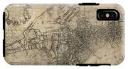 Antique Map Of Boston By William Price - 1769 IPhone X Tough Case