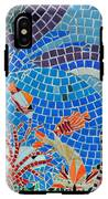 Aquatic Mosaic Tile Art IPhone X Tough Case