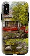 Architecture - Japan - Tranquil Moments  IPhone X Tough Case