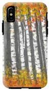 Aspen Trees IPhone X Tough Case