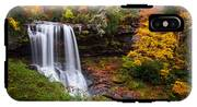 Autumn At Dry Falls - Highlands Nc Waterfalls IPhone X Tough Case