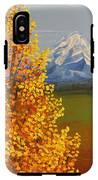 Autumn At Mt Shasta IPhone X Tough Case