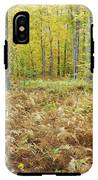 Autumn Forest - White Mountains New Hampshire IPhone X Tough Case