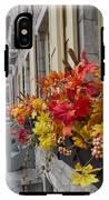 Autumn Window Box IPhone X Tough Case