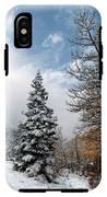 Autumn Winter Colors 2 IPhone X Tough Case