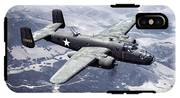 B-25 World War II Era Bomber - 1942 IPhone X Tough Case