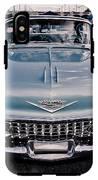 Baby Blue Cadillac IPhone X Tough Case