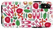 Ballet Scribble Fleur IPhone X Tough Case
