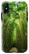 Bamboo Sky - The Magical And Mysterious Bamboo Forest Of Maui. IPhone X Tough Case