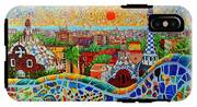 Barcelona View At Sunrise - Park Guell  Of Gaudi IPhone X Tough Case