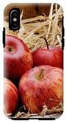 Basket Of Delicious Red Apples IPhone X Tough Case