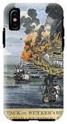 Battle Of Bunker Hill, 1775 IPhone X Tough Case