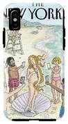 Venus On The Beach IPhone X Tough Case