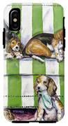 Beagle Mania IPhone X Tough Case
