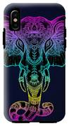 Beautiful Hand-drawn Tribal Style IPhone X Tough Case