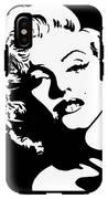 Beautiful Marilyn Monroe Original Acrylic Painting IPhone X Tough Case