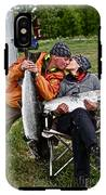 Besame Mucho . Salmon Love Story. IPhone X Tough Case