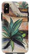 Big Aloe Maguey IPhone X Tough Case
