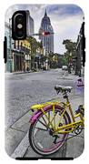 Bike And 3 Georges In Mobile Alabama IPhone X Tough Case