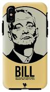 Bill Poster 1 IPhone X Tough Case