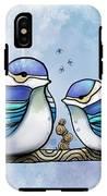 Birds Of Blue IPhone X Tough Case