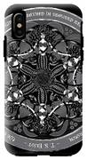 Black And White Gothic Celtic Mermaids IPhone X Tough Case