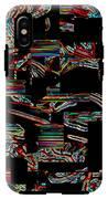 Black Love IPhone X Tough Case