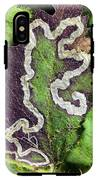 Blackberry Leaf-miner Tunnel IPhone X Tough Case