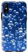 Blue Bubbles IPhone X Tough Case