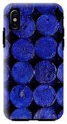 Blue IPhone X Tough Case