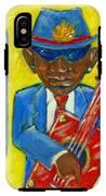 Blues IPhone X Tough Case