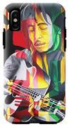 Bob Marley And Rasta Lion IPhone X Tough Case