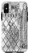 Boethius (c480-c524) IPhone X Tough Case