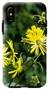 Bold Yellow Flowers IPhone X Tough Case