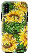 Bountiful Sunflowers IPhone X Tough Case