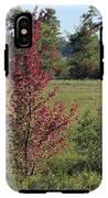 Brilliant Autumn Red IPhone X Tough Case