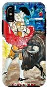 Bull Fighter IPhone X Tough Case