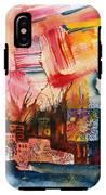 Burning Sunset IPhone X Tough Case