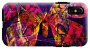 Butterfly In Abstract Dsc2977 Square IPhone X Tough Case