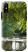 Cacapon River On  127 IPhone X Tough Case
