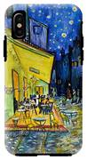 Cafe Terrace At Night IPhone X Tough Case