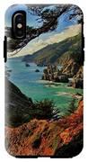 California Coastline IPhone X Tough Case