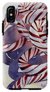 Candy Cane Christmas IPhone X Tough Case
