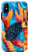 Caribbean Damselfish IPhone X Tough Case
