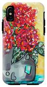 Carolyn's Roses IPhone X Tough Case